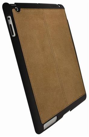 Etui Krusell UnderCover Faux - Plecki do iPad 2ze skórzanym tyłem