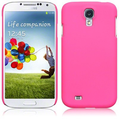 Etui Terrapin do Samsung Galaxy S4 i9500 hybrydowe  - odblaskowy różowy