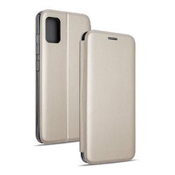 Etui Beline Book Magnetic Do Oppo A31, Gold