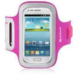 Etui sportowe Shocksock Samsung i8190 Galaxy S3 Mini - różowy