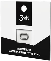 Pierścień chroniący kamerę 3MK Camera Protective Ring do Apple iPhone 7 Plus srebrny