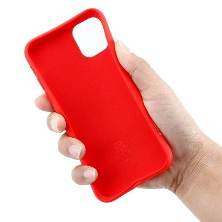 CRONG COLOR COVER - ETUI IPHONE 11 (CZERWONY)
