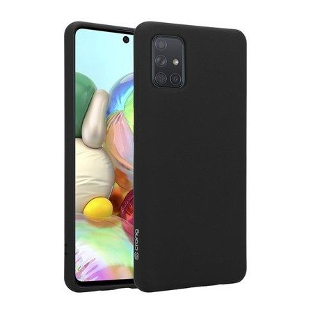 CRONG COLOR COVER - ETUI SAMSUNG GALAXY A71 (CZARNY)