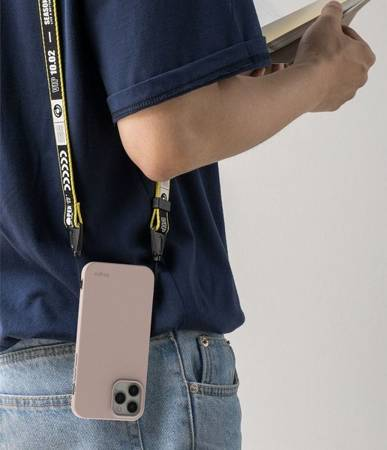 ETUI RINGKE AIR S IPHONE 12/12 PRO PINK SAND