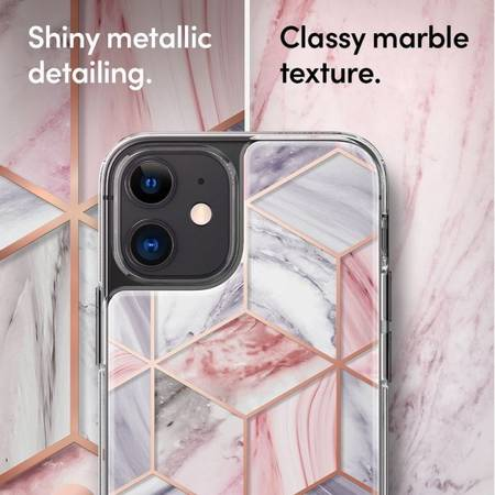 ETUI SPIGEN CYRILL CECILE DO IPHONE 12 MINI PINK MARBLE