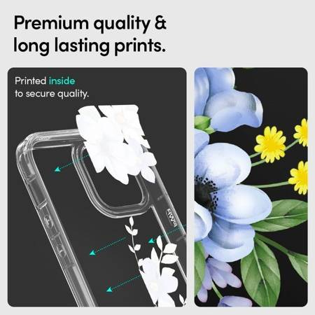ETUI SPIGEN CYRILL CECILE DO IPHONE 12 PRO MAX MIDNIGHT BLOOM