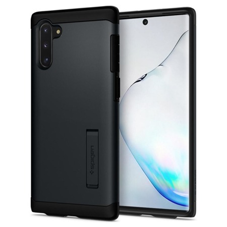 ETUI SPIGEN SLIM ARMOR GALAXY NOTE 10 METAL SLATE