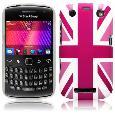 Etui Call Candy do Blackberry 9360 flaga UK - żelowe
