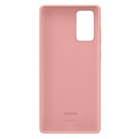 Etui Do Samsung Note 20 Pink, Silicone Cover