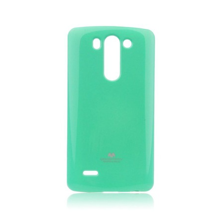Etui Goospery Jelly Mercury do LG G3 mini gumowe - miętowe