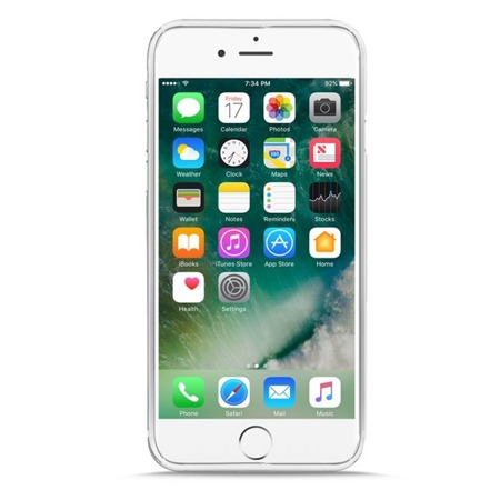 Etui PURO 0.3 mm Nude do Apple iPhone 7/8/SE 2020 ultra cienkie przeźroczysty