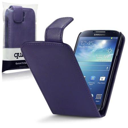 Etui Qubits Samsung Galaxy S4 i9500  fioletowy