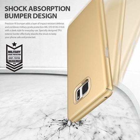 Etui Ringke Slim Gold do Samsung Galaxy Note FE / Note 7 złote