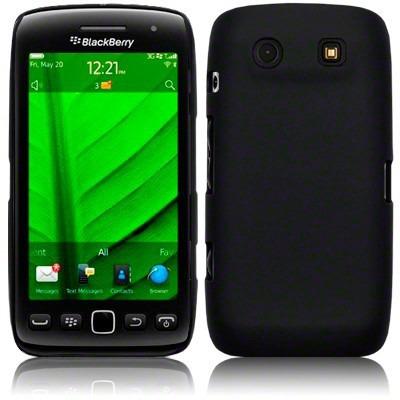 Etui Terrapin BlackBerry 9860 Torch silikonowe - czarny