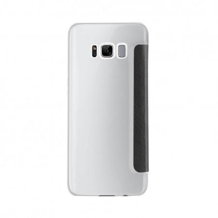 Etui Xqisit FLAP COVER ADOUR  do Samsung Galaxy S8 Plus - czarny