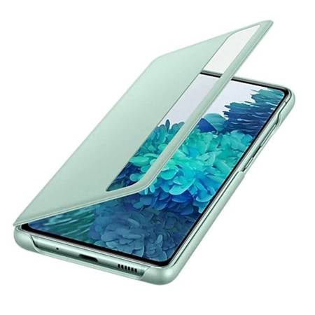 Etui oryginalne Samsung Clear View Cover Do Galaxy S20 FE - Miętowy