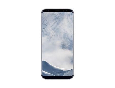 Etui oryginalne Samsung Galaxy S8 Plus Clear Cover - przeźroczysto srebrne