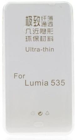 Etui silikonowe Ultra Slim 0,3mm do Nokia Lumia 535 przeżroczyste