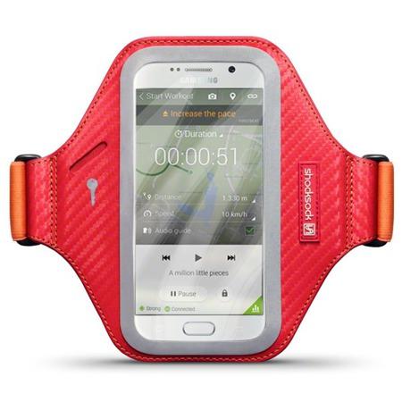 Etui sportowe Shocksock Eziflex do Samsung Galaxy S6 czerwony