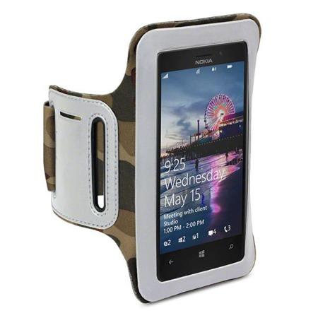 Etui sportowe Shocksock do Nokia Lumia 925 moro
