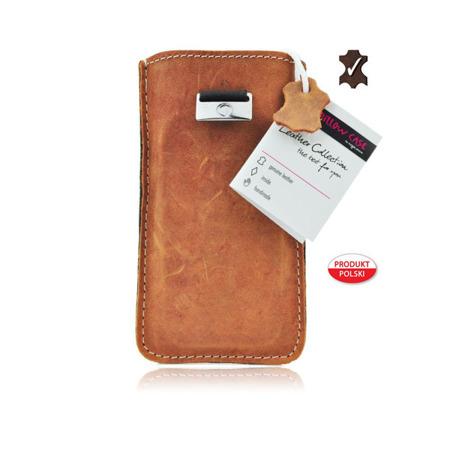 Futerał Skórzany Forcell Slim Premium Samsung Galaxy S3/ S4/ A3 - brązowy