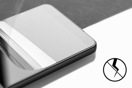 Hybrydowe szkło 3MK Flexible Glass 3D Matte-Coat do Apple iPhone 7 Plus - 1 sztuka na przód i 1 matowa na tył