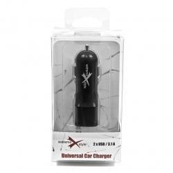 Ładowarka samochodowa eXtreme 2 x USB 3.1A CC312U