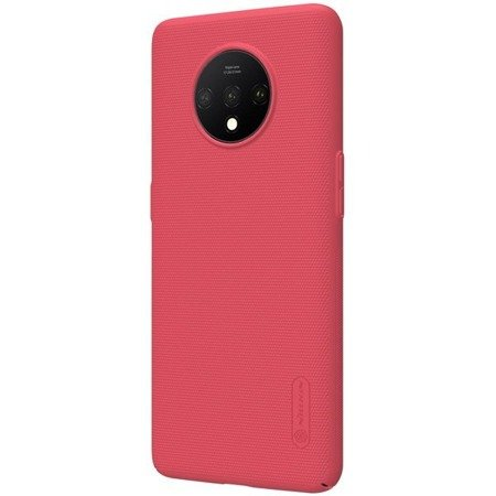NILLKIN SUPER FROSTED SHIELD - ETUI ONEPLUS 7T (BRIGHT RED)