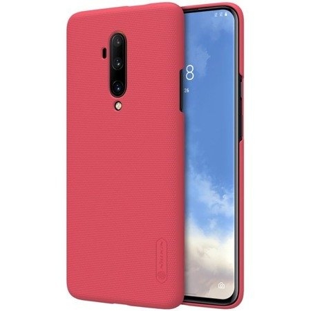 NILLKIN SUPER FROSTED SHIELD - ETUI ONEPLUS 7T PRO (BRIGHT RED)
