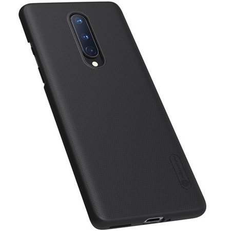 NILLKIN SUPER FROSTED SHIELD - ETUI ONEPLUS 8 (BLACK)