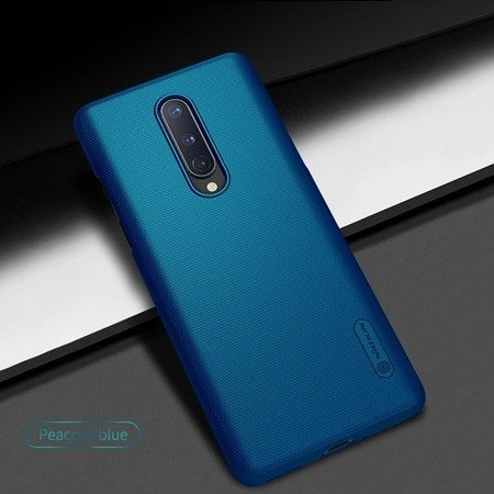 NILLKIN SUPER FROSTED SHIELD - ETUI ONEPLUS 8 (PEACOCK BLUE)