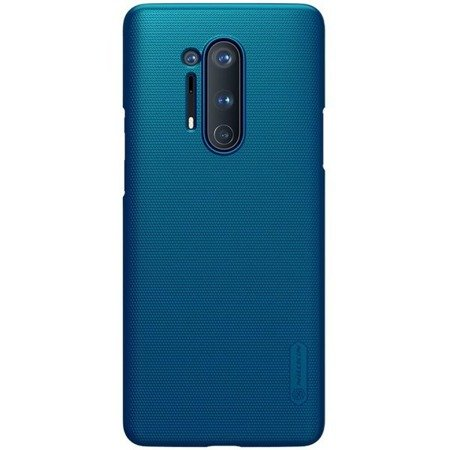 NILLKIN SUPER FROSTED SHIELD - ETUI ONEPLUS 8 PRO (PEACOCK BLUE)