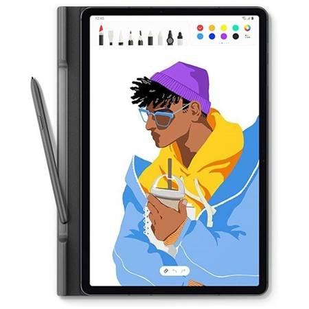 Orginalne Etui Do Galaxy Tab S7+ Book Cover, Black