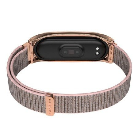 PASEK TECH-PROTECT NYLON XIAOMI MI BAND 5 ROSE GOLD