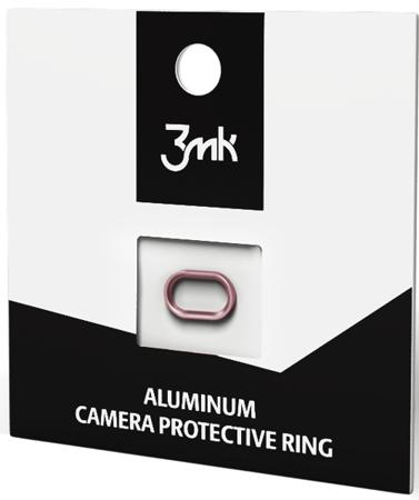 Pierścień chroniący kamerę 3MK Camera Protective Ring do Apple iPhone 7 Plus złoty róż