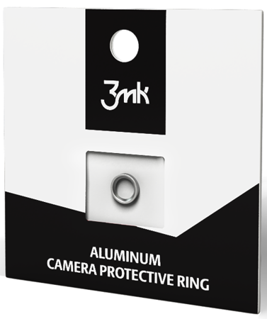 Pierścień chroniący kamerę 3MK Camera Protective Ring do Apple iPhone 7 srebrny