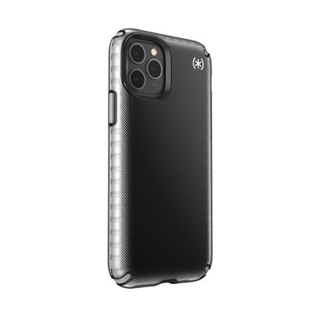 SPECK PRESIDIO2 ARMOR CLOUD - ETUI IPHONE 11 PRO Z POWŁOKĄ MICROBAN (BLACK FADE/BLACK/CATHEDRAL GREY)