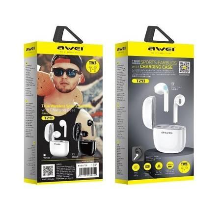 Słuchawki Bezprzewodowe AWEI T28, Bluetooth, Black