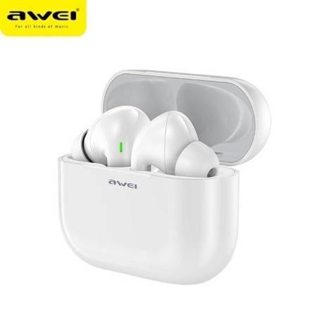 Słuchawki Bezprzewodowe AWEI T29, Bluetooth, Biały